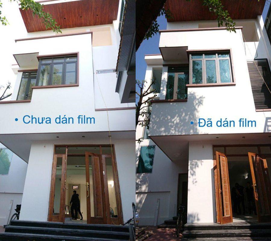 Hình ảnh nhà trước và sau khi lắp đặt Classis - HPR 35GN